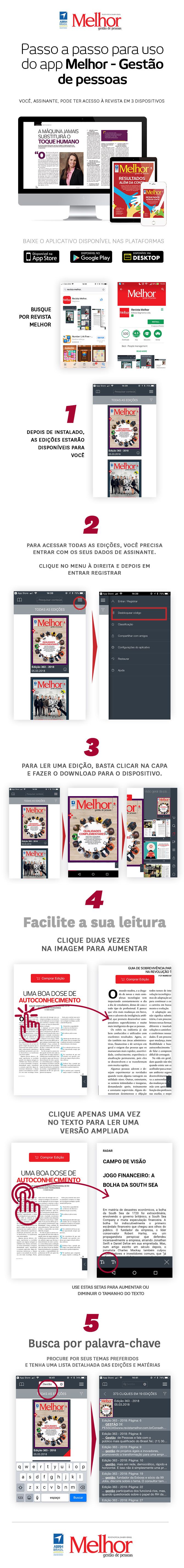 Download do App Revista Melhor