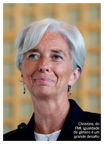 Christine FMI. Igualdade entre homens e mulheres ajuda a economia