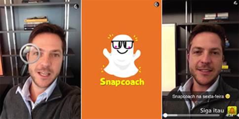 Itaú usa Snapchat para atrair jovens talentos com espírito empreendedor