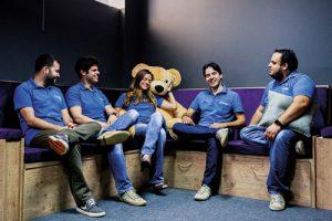 Equipe na Arquivei: investimento em ambiente descontraído