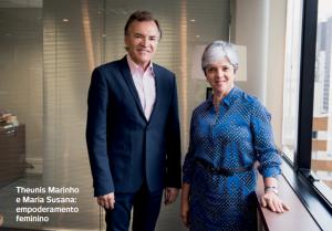 Theunis Marinho e Maria Susana: empoderamento feminino