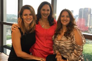 Sofia Esteves, Adriana Cambiaghi e Alessandra Caramico